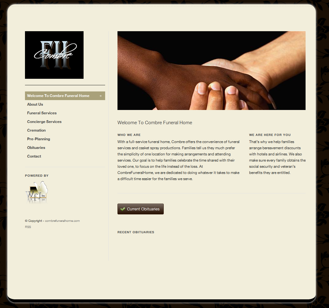 Web design - Funeral home web design ...